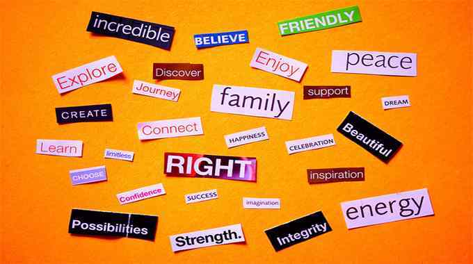 Words that manifest fun and excitement