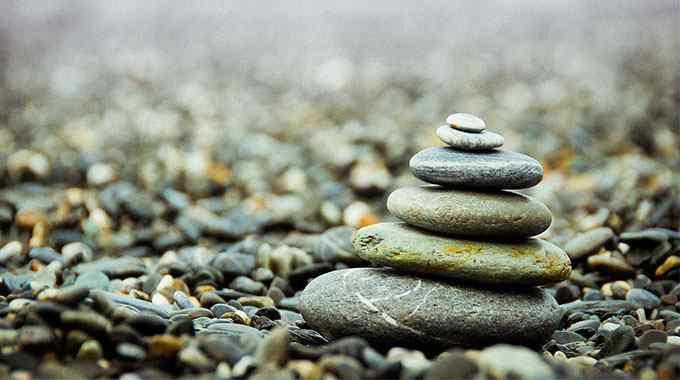 Feeling overwhelmed by negativity? Find your zen.
