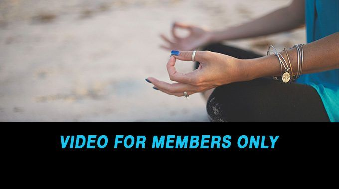 Meditation for a Calmer Life Pace-Members' Only