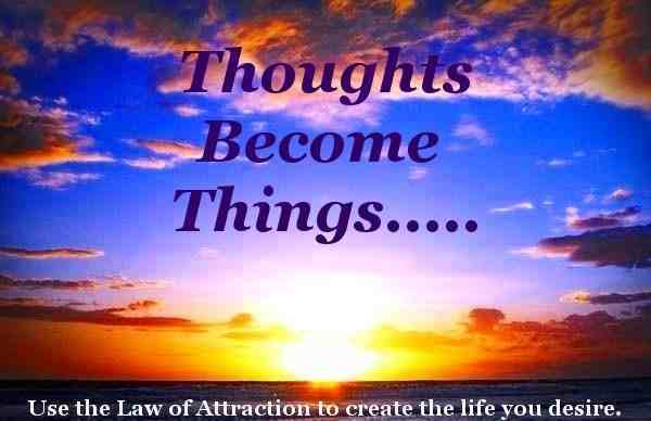 Thoughts become things: Try our Law of Attraction education to raise your vibration today!
