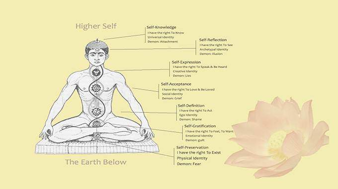 What are chakras? An infographic.
