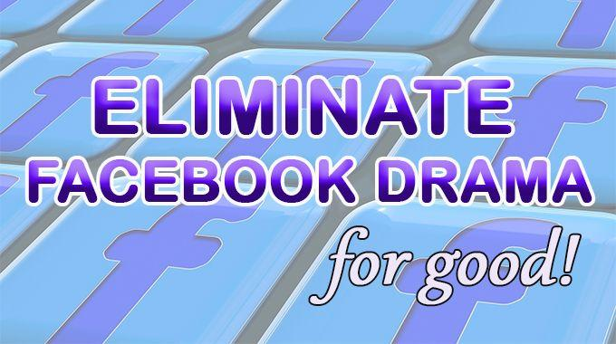reduce negativity on your facebook feed