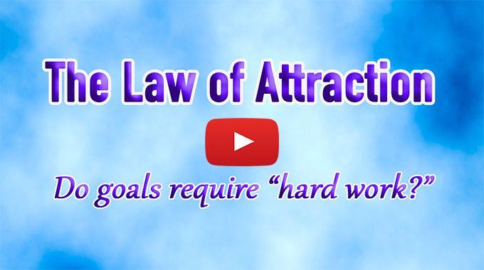 hard work law of attraction