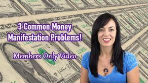 Common money manifestation problems