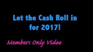 Cash flow positive 2017