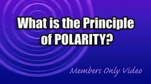 What Is the Principle of Polarity?