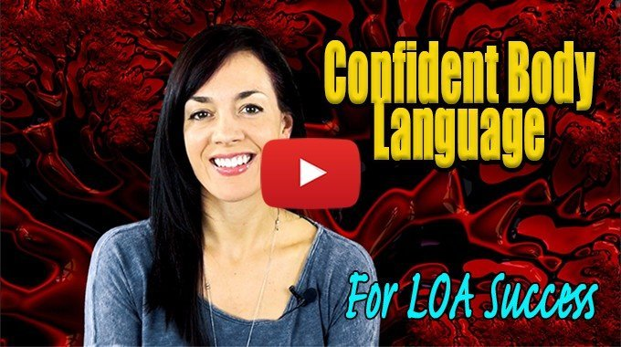 confident body language law of attraction
