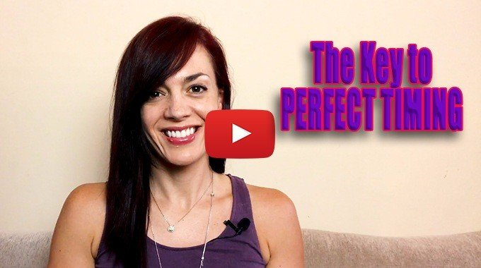 the key to perfect timing law of attraction