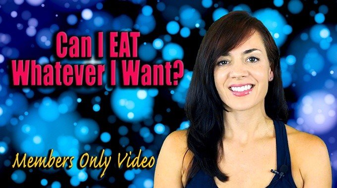 can i eat whatever i want law of attraction