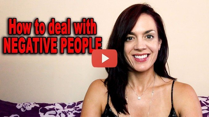 how to deal with negative people law of attraction