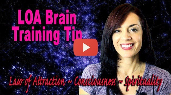 law of attraction brain training tip
