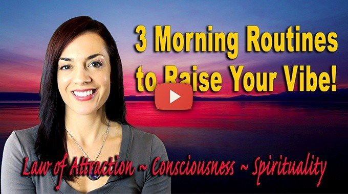 law of attraction morning rituals routines