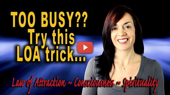 stress and the law of attraction busy ratio