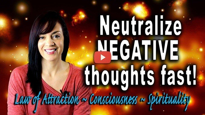eutralize a negative thought spiral