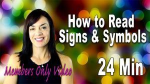 how to read signs and signals