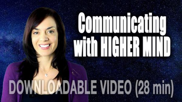 COMMUNICATING WITH THE HIGHER MIND