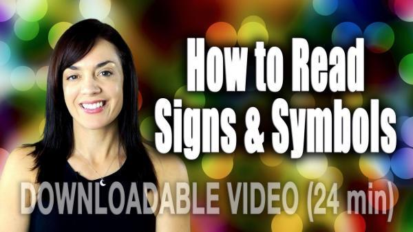 HOW TO READ SIGNS & SYMBOLS CCC