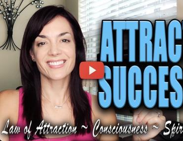 how to attract success manifest success law of attraction video