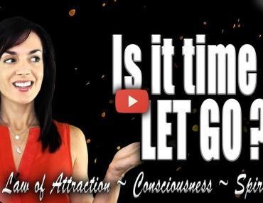 the importance of letting go loa law of attraction video