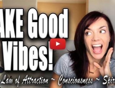 fake good vibes law of attraction video