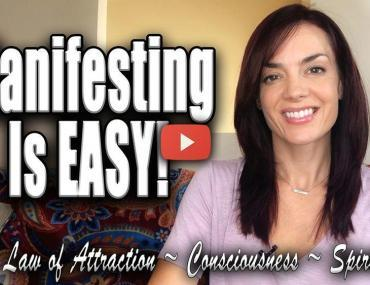 manifesting is easy proof law of attraction video