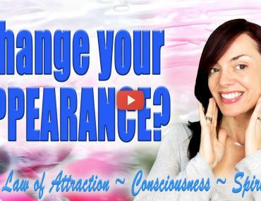 How to Change Your Physical Appearance With the Law of Attraction video Andrea Schulman Raise Your Vibration TODAY
