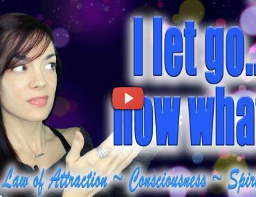 how to detach i let go now what law of attraction video andrea schulman raise your vibration today