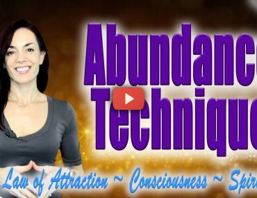 Law of Attraction Abundance Technique Andrea Schulman Raise Your Vibration Today Video