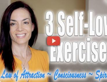 3 easy self-love exercises techniques how to law of attraction andrea schulman raise your vibration today